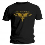 T-shirt Foo Fighters - Gold Gun