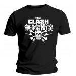 T-shirt The Clash - Skull