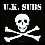 Patch UK Subs - Skull