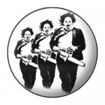 Badge Texas Chainsaw Massacre - Triplicate