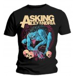 T-shirt Asking Alexandria - Gargoyle