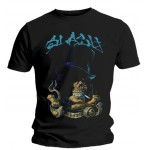 T-shirt Slash - Smoking Skull