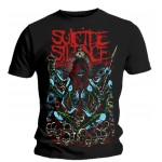 T-shirt Suicide Silence - Tribal Demon