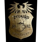 Back Patch Tankard - Crest