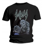T-shirt Sadus - Swallowed In Black