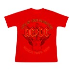T-shirt AC/DC - Lock up Your Daughters Enfant