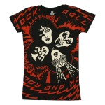 T-shirt Kiss - Ladies Room - Femme