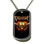 Pendentif Dog Tag Bullet For My Valentine - Two Pistols