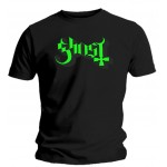 T-shirt Ghost - Logo Green