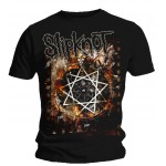 T-shirt Slipknot - Flames