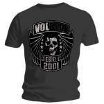 T-shirt Volbeat - Skull N' Wings