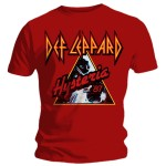 T-shirt Def Leppard - Red Hysteria