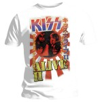 T-shirt Kiss - Alive II