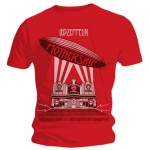 T-shirt Led Zeppelin - Red Mothership