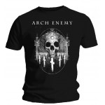 T-shirt Arch Enemy - Graveyard Skull