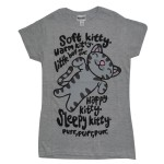 T-shirt The Big Bang Theory - Soft Kitty - Femme