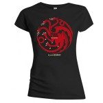 T-shirt Game of Thrones - Fire - Femme