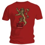 T-shirt Game of Thrones - Lannister
