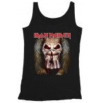 T-shirt Sans Manche Iron Maiden - Eddie Candle Finger