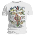 T-shirt AC/DC - Dirty Deeds Parrot