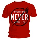 T-shirt Metallica - Never