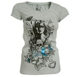 T-shirt LA Ink - Grey Woman - Femme