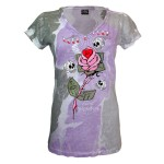 T-shirt Alchemy - Love and Luck - Femme