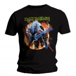 T-shirt Iron Maiden - Fear Live Flame