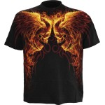 T-shirt Spiral - Burn In Hell Allover