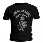 T-shirt Sons of Anarchy - Reaper Logo