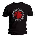 T-shirt Red Hot Chili Peppers - Distressed Asterisk