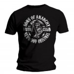 T-shirt Sons of Anarchy - Redwood