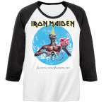 T-shirt Raglan Iron Maiden - Seventh Son
