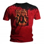 T-shirt AC/DC - Burning Bells