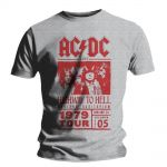 T-shirt AC/DC - Red Highway