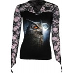 T-shirt Manches Longues Spiral - Night Wise - Femme