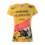 T-shirt Darkside - Nevermind The Apocalypse Zombie - Femme