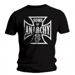 T-shirt Sons of Anarchy - Anarchy Cross