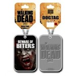 Pendentif Dog Tag The Walking Dead - Beware of Biters