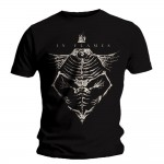 T-shirt In Flames - Jesterhead Bones