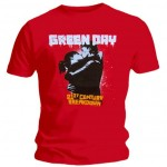 T-Shirt Green Day - 21St Century Rouge