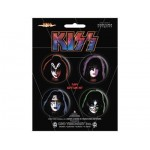 Badges Kiss - Pack