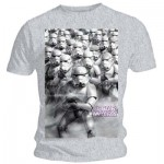 T-Shirt Star Wars - Army Gris