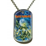 Pendentif Dog Tag Iron Maiden - Live After Death