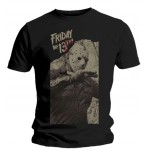 T-shirt Friday The 13th - Torn Art
