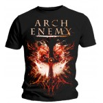 T-shirt Arch Enemy - Twin Skulls